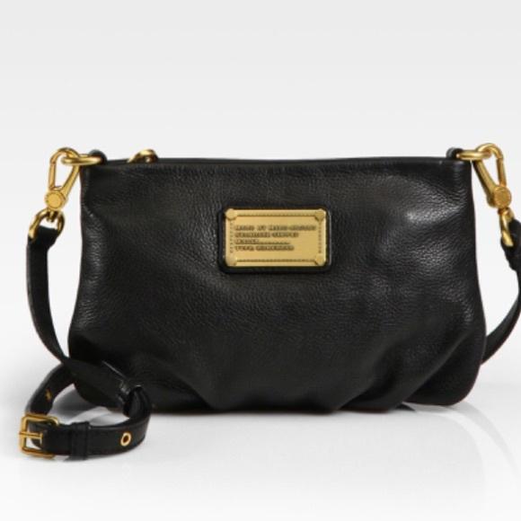 Marc By Marc Jacobs Handbags - ✅MARC BY MARC JACOBS💕black classic crossbody bag